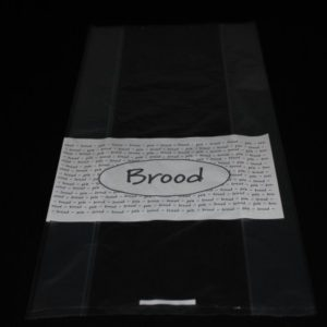 Broodzak plastic 30my